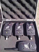 Набор сигнализаторов для рыбалки с пейджером BARRACUDA 3+1