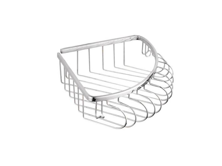 Полка для ванной комнаты KUGU 217С (латунь, хром)(Бесплатная доставка  )
