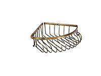 Полка для ванной комнаты KUGU 217А (латунь, бронза)(Бесплатная доставка Новой почтой)