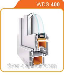 Металлопластиковые окна WDS 400. Белая Церковь