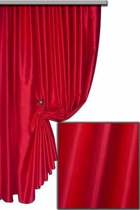 Ткань Шанзализе (селеста) Красный, фото 2