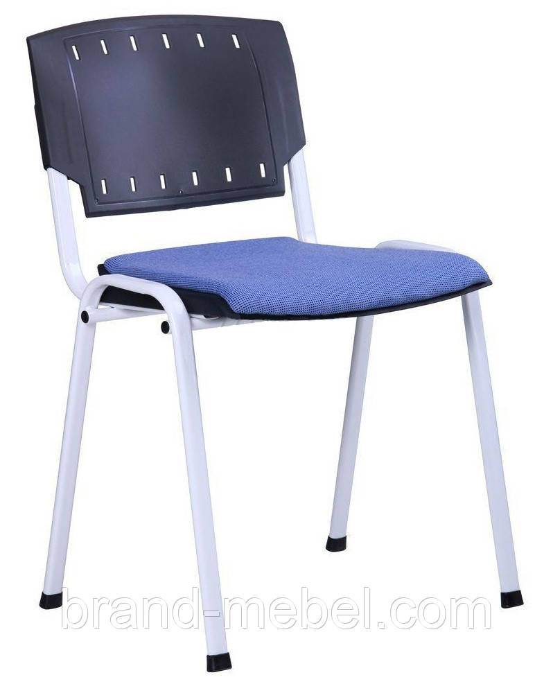 Стул Призма белый лак сиденье
