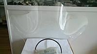 Лобовое стекло с ушами для мотоцикла с креплением