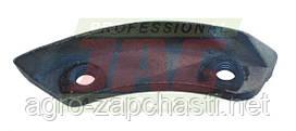 Нож головки ротора Г-образный профиль (полумесяц)