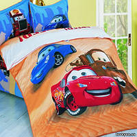 Детский постельный комплект Love you Тачки TD 107