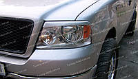 Реснички Ford F-150 (накладки на передние фары Форд Ф-150), фото 1