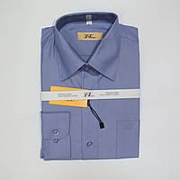 Подростковая классическая рубашка с длинным рукавом для мальчиков 152р