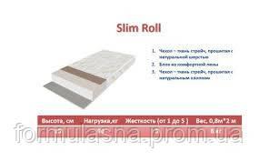 Беспружинный матрас Slim Roll Take&Go, фото 2
