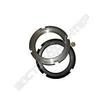 Гайка М16 ГОСТ 11871-88 круглая шлицевая, фото 3