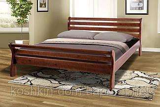 """Ліжко двоспальне """" Ретро-2 160*200 масив сосни"""