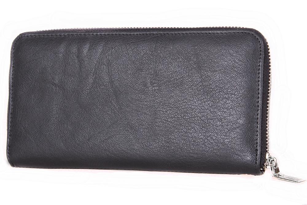 Мужской кожаный клатч 3077757 черный