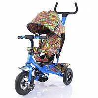 Детский трехколесный велосипед TILLY Trike (T-351-2 ГОЛУБОЙ)
