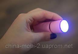 Ультрафиолетовый LED фонарик для сушки гель / лака UF ФОНАРИК , фото 3