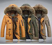 Теплая мужская зимняя куртка. Модель 713, фото 2
