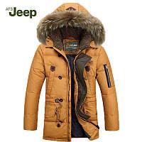 Теплая мужская зимняя куртка. Модель 713, фото 1