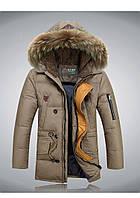 Теплая мужская зимняя куртка. Модель 713, фото 3