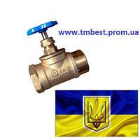 """Вентиль 3/4"""" ДУ 20 ВН латунный"""