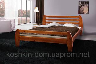 Ліжко двоспальне Galaxy 160*200 масив сосни