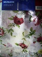 Скатерть с цветами 120х160 мм