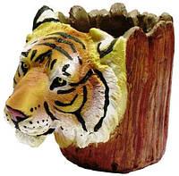 Подставка для ручек тигр 140х100х80