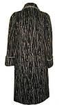 Длинное пальто из ворсовой ткани, фото 2