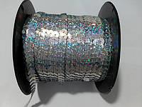 Пайетка серебро