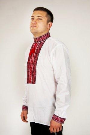 Мужская вышиванка в традиционном стиле Сергий