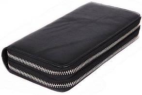 Мужской стильный клатч из натуральной кожи Norton 3077758 Черный