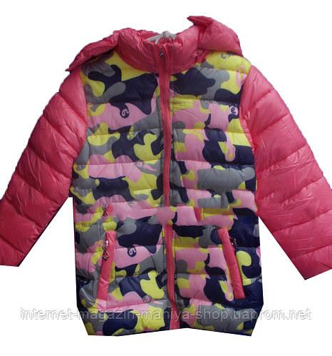 Детская куртка на девочку (6-10 лет). Осень