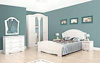 Кровать 2-сп Луиза патина (Світ Меблів TM)
