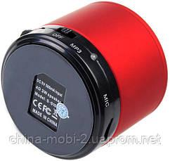 Портативная колонка Mini bluetooth speaker S10 red, фото 3