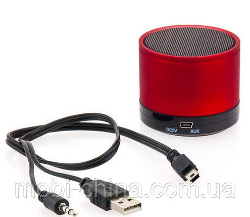 Портативная колонка Mini bluetooth speaker S10 red, фото 2
