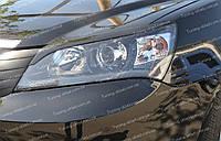 Реснички Джили Эмгранд Ес7 (накладки на передние фары Gelly Emgrand Ec7)