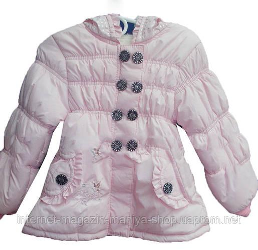 Детская куртка на девочку (3-6 лет). Осень