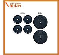 Комплект блинов (дисков)30 кг (2 комплектации)