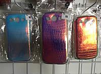 Яркий Силиконовый Чехол Накладка Чешуя для Samsung Galaxy S3