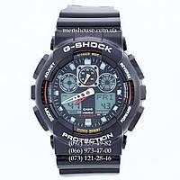 Элитные часы Casio G-Shock GA-100-1A4ER AAA