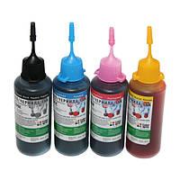 Комплект чернила ColorWay для hp, водорастворимые, 4 х 50мл, CW-HW350SET01
