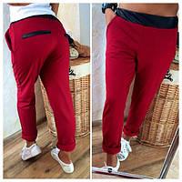 Женские брюки с кожей Турция