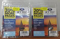 Картридж струйный для принтера JET-TEC для Epson E115lc T0825 cyan