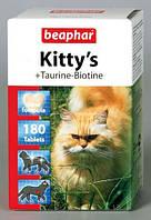 ВИтамины БЕАФАР Коты Киттис таурин+биотин таб №75