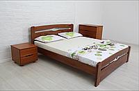 """Кровать из натурального дерева """"Нова с изножьем"""""""