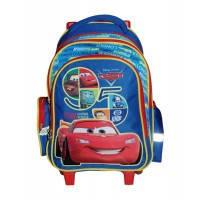 Рюкзак (ранец) школьный 1 Вересня 551615 Тачки на колёсиках