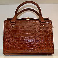 Женская сумка осень зима коричневая