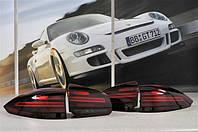 Комплект задних фонарей, цвет Black из 4-ех шт  | Porsche Cayenne