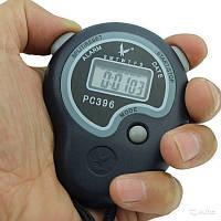 Секундомер PC396 однострочный, пластик, память 1, 3-ех кноп.