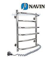 Полотенцесушитель электрический NAVIN Омега  530 х 600 (с терморегулятором)