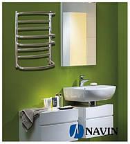 Полотенцесушитель електричний NAVIN Омега 530 х 600 (з терморегулятором), фото 2