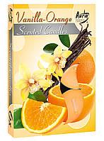 Ароматические свечи-таблетки Ваниль-апельсин Bispol p15-37