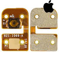 Шлейф для iPod Touch 4G, кнопки home, с компонентом (оригинал)